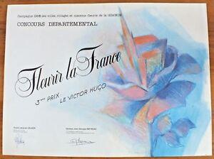 Poster-Dauguet-034-Flourish-La-France-034-1985-BAR-Victor-Hugo