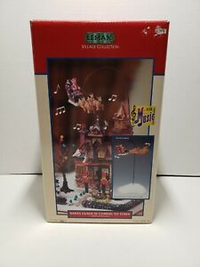 Vintage Lemax Village Collection Santa Claus is Coming to Town Christmas 1992