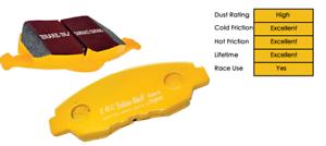 EBC Yellow Stuff BRZ 2012+ fits Toyota GT86 Fast Road Front Brake Pads