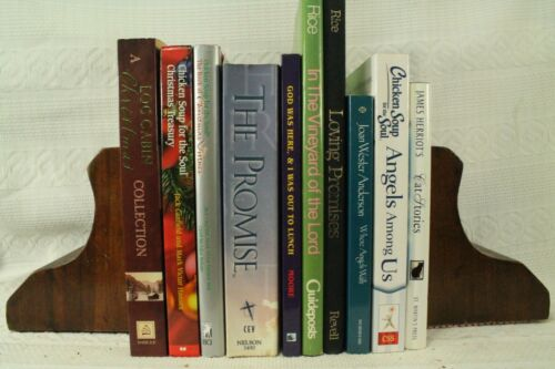 lot 10 books Chicken Soup Log Cabin Christmas collection Bible Angles Christian
