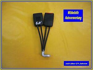 VW-Polo-6n-Gurtschlosspaar-hinten-Gurtschloesser