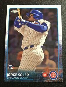 2015 Topps Chrome Refractor #154 Jorge Soler Baseball Rookie Card