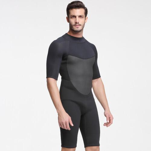 2MM Neoprene One Piece Wetsuit Men Scuba Diving Suit Cold Water Surfing Swimwear