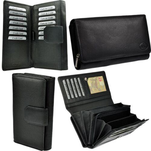 6291A AMARI XXL Portemonnaie Nappaleder Geldbörse Geldbeutel 20 Kartenfächer