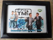 Autographed CBBC Postcard, Sam & Mark TMi - Sam Nixon & Mark Rhodes