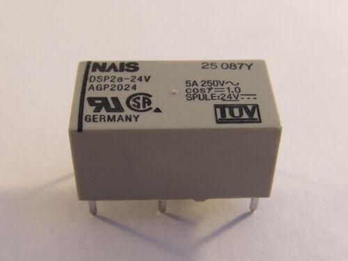 2 N.A. dsp2a-24v nais Print relés de potencia 24vdc 1 unidades