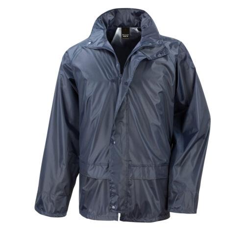 Result Core Rain Jacket Waterproof /& Windproof Unisex Coat R227X