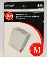 Hoover Type M Dimension Canister Vacuum Bags 3 Pack 4010037m