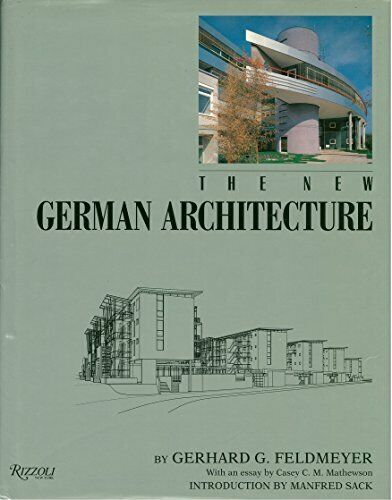 The New German Architecture by Felomeyer, Gerhard G. Hardback Book The Fast Free