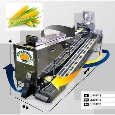 Corn Tortilla Machine Equipment With Automated Grill Ebay