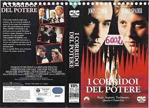 I-CORRIDOI-DEL-POTERE-1991-vhs-ex-noleggio