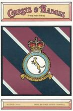 ROYAL AIR FORCE STATION ( RAFS ) HEMSWELL POSTCARD ( CRESTS & BADGES SERIES  )