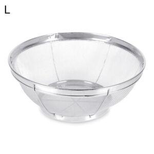 Kitchen-Stainless-Steel-Wire-Fine-Mesh-Oil-Strainer-Colander-Drain-Basket-Bowl