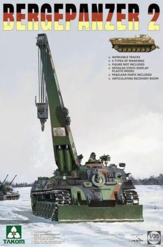 Takom 2122 1//35 Bergepanzer 2