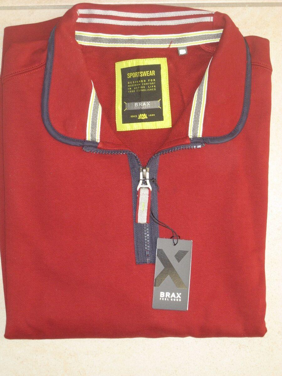 BRAX Sweat Pullover rot NEU kuschelig weich   lt. Hersteller