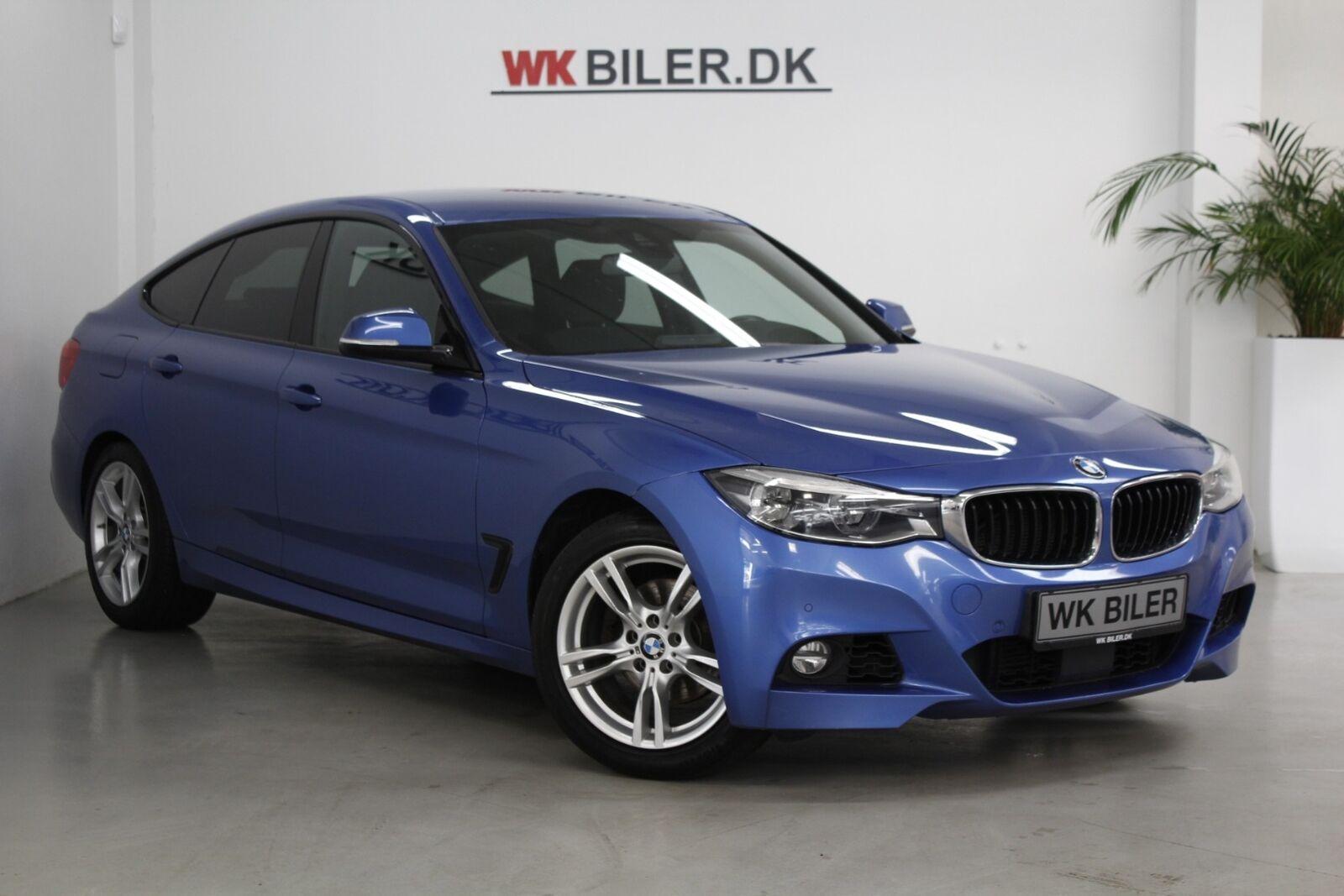 BMW 320d 2,0 Gran Turismo M-Sport aut. 5d - 1.995 kr.
