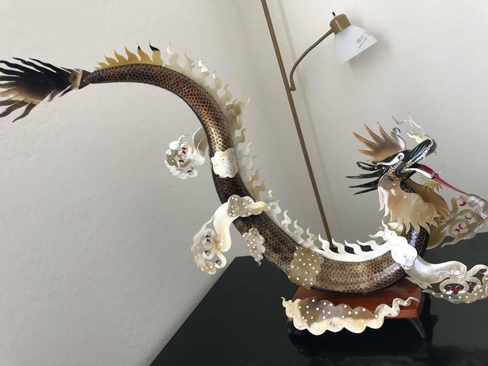 Dragon Very Large Statue, Lot of of of 3, FREE Ship in US 46b81d