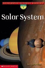 Solar System (Scholastic Science Readers, Level 2) Vogt, Gregory L. Paperback
