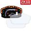 2 x Ducati Panigale 899 959 1199 1299 Tacho Displayschutzfolie Ultra-Klar
