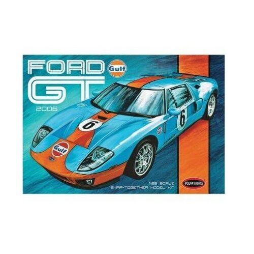 POL955 - GALAXY RC snap Gulf 2006 Ford GT car 1:25 POLAR LIGHTS