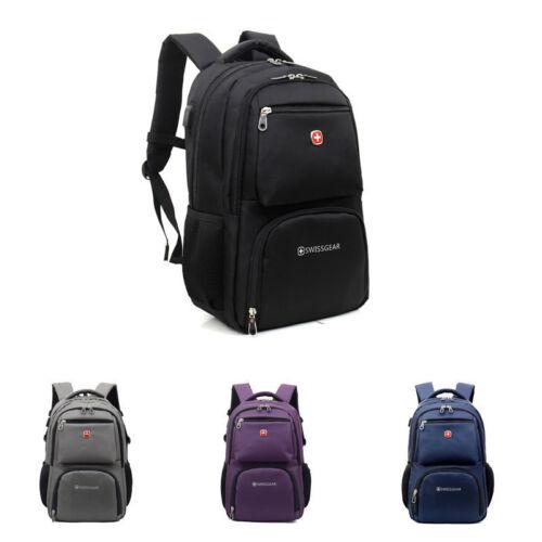 15.6/'/' SwissGear Backpack Travel Bag Laptop Hiking Business School Bag Rucksack