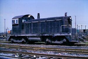 Original-Slide-McLouth-Steel-Railroad-Switcher-SW1-5-Flat-Rock-MI-1974