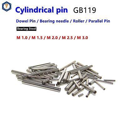 M1 M1.5 M2 M2.5 M3 Dowel Pin Parallel Roller Pin  Bearing Needle Bearing Steel
