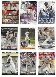 2018-TOPPS-INSERTS-SERIES-1-2-amp-UPDATE-STARS-RC-HOF-ALL-LISTED-U-PICK