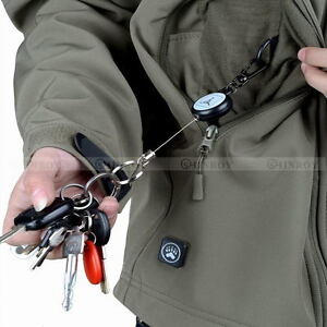 Retractable-Pull-Chain-Reel-Card-Badge-Holder-Recoil-Belt-Plastic-Key-Chain