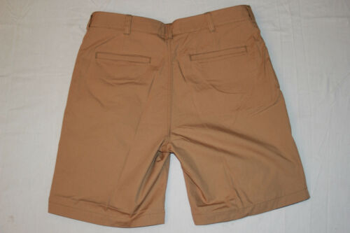 Cremieux Mens New $70 REVERSIBLE Flat Front Chino Casual Shorts 36 x 9 NWT 36