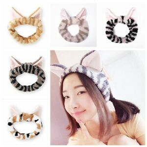 Cat-Ears-Hairband-Party-Gift-Headdress-Hair-Accessories-Makeup-Tools-Head-Band