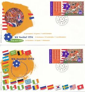 2-FDC-039-s-Nederland-WK-Voetbal-1994-Blanco-Open-klep