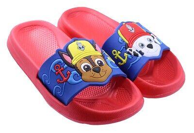 Paw Patrol little Boys Sandals Flip Flops for children /& kids