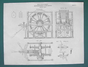 SHIP-BUILDING-Block-Shaping-Engine-at-Portsmouth-1820-ABRAHAM-REES-Print