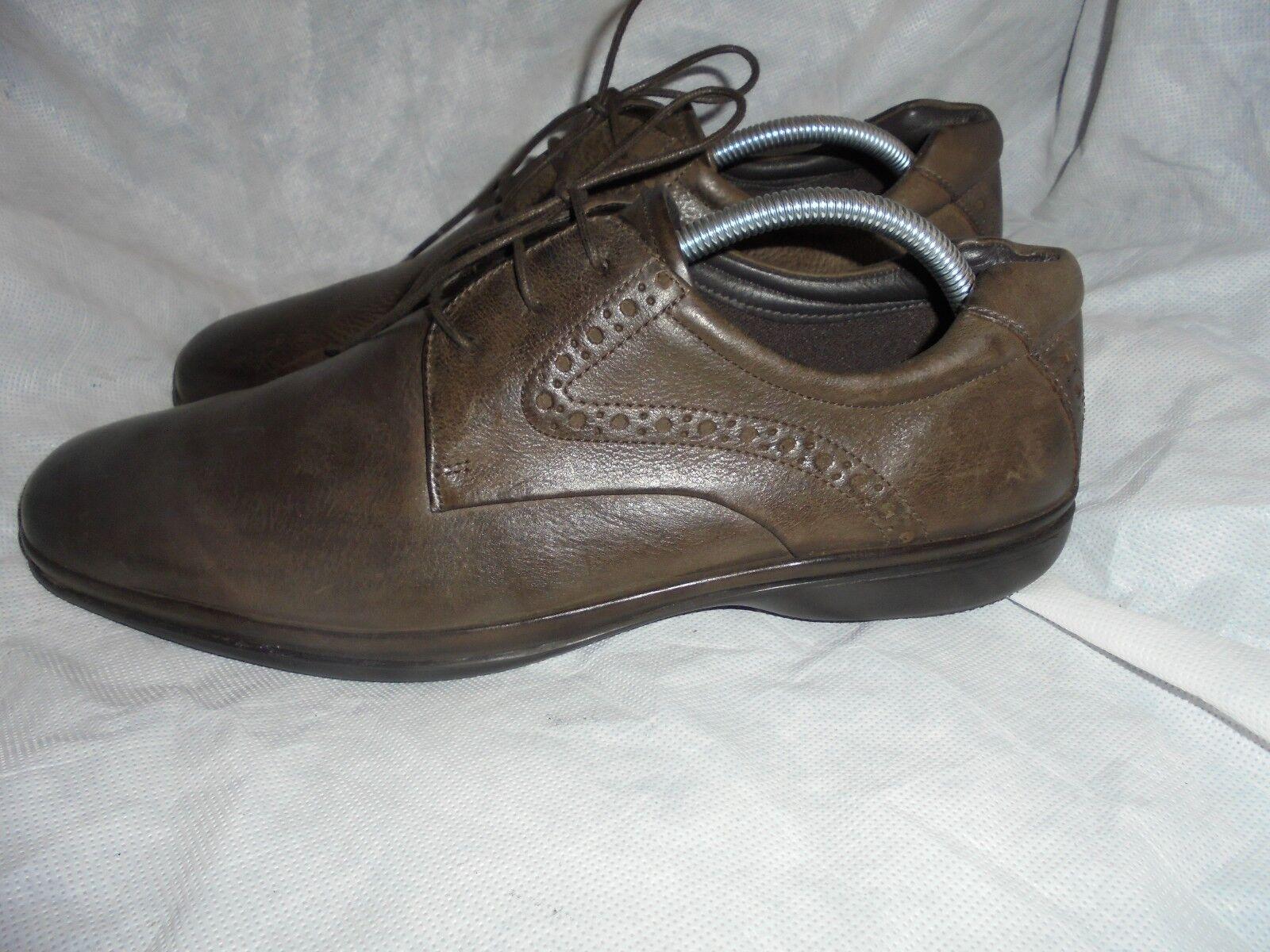 """4bf9be4d270 Masilla CLARKS Para Hombre De Cuero Marrón Zapatos Zapatos Zapatos De  Cordones Talla 44.5 10G UE. """""""