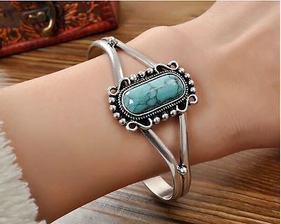 Film Jewelry Turquoise Bella's Bracelet Bangle Women's Silver Plated Bracelet
