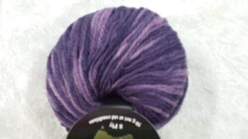 Heirloom Colorado 8 Ply #155 Verigated Purple Wool