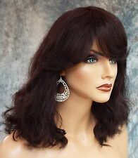 SONNET PREMIUM REMY 100% HUMAN HAIR WIG * Natural Black * Fast Ship *