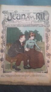 Revista Jean Que Rit N º 466 1910 Journal Demuestra que Aparecen El Viernes ABE