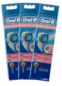 2, 4, 8, 12 Braun Oral B Sensitive / Sensi Ultra Thin  Aufsteckbürsten OralB