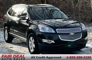 2012 Chevrolet Traverse LT: AWD/8 Passenger/Bluetooth/Backup Camera