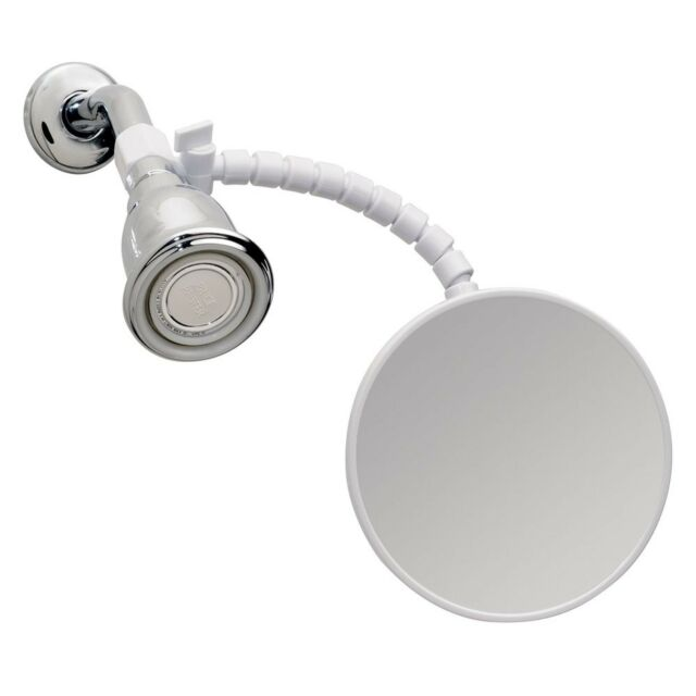 Bathroom mirror Anti Fog Shower Shaving Mirror Fog Free Fogless Flexible Arm
