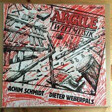 Argile - !Weltmusik, orig. LP marizet/schneeball 1986 GER Achim Schmidt NM-