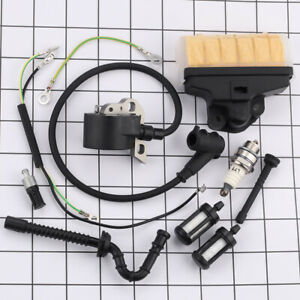 Air Filter Fuel Line Hose Start Handle For Stihl 021 023 025 MS210 MS230 MS250