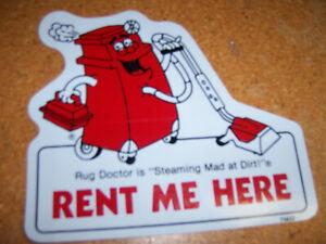 Rug Doctor Carpet Cleaner R 40 Door