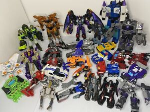 Transformers Movie Prime Robots in Disguise Cyberverse Rescue Bots Mixed Lot