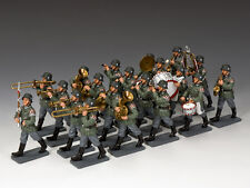 WH032 The 20-piece Classic Wehrmacht Band by King & Country