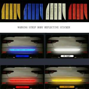 Reflective-Safety-Mark-Strips-Car-Door-Stickers-Warning-Tape-Auto-Decal-Trim-5Pc
