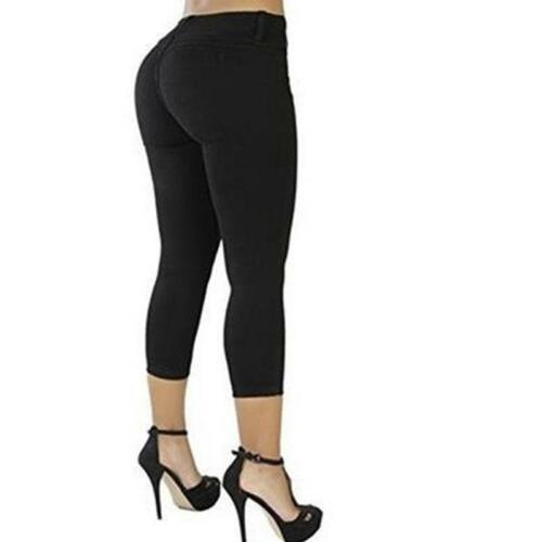 Summer Women Jeans Jeggings Ladies Skinny Stretchy Trousers Pants FI