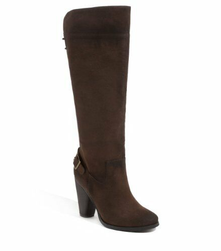 G BY GUESS WOMEN'S BROWN SUEDE SUEDE SUEDE BACK LACE UP HILARY BOOTS SZ.6 07a86e